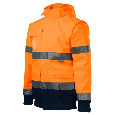 Jachetă unisex HV Guard 4 in 1, 100 % poliester, 210/280 g/mp
