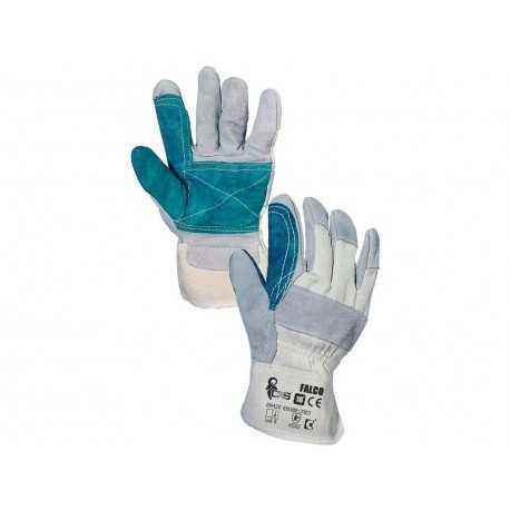 Mănuși de protecție cu dublură în palmă FALCO, 0002-06