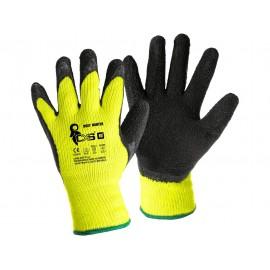 Mănuși de protecție de iarnă, poliester imersat cu latex, CXS Roxy Winter