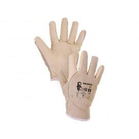 Mănuși de protecție de iarnă, piele box de porc, CXS Urbi Winter