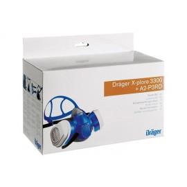 Set de protecție vopsitor / agricultor - Dräger X-plore 3300 + filtre A2P3