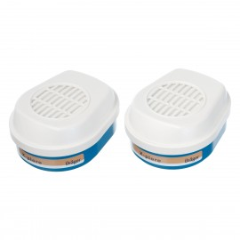 Set filtre Drager Bajonett A2 P3 R, pentru semimasca 3300 / 3500 și masca 5500