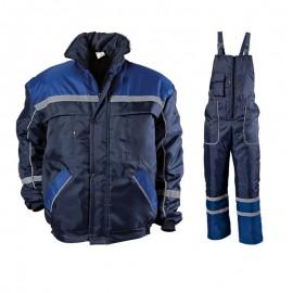 Costum de lucru impermeabil pentru iarnă, Collins Blue