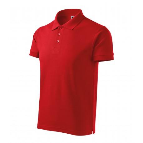 Tricou polo pentru bărbați Cotton Heavy, 100% bumbac, 220 g/mp