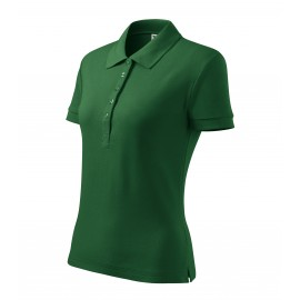 Tricou polo de damă Cotton Heavy, 100% bumbac, 220 g/mp