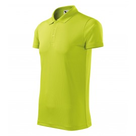 Tricou polo unisex Victory, 100% poliester, 150 g/mp