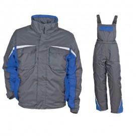 Costum de lucru impermeabil pentru iarnă, Kastor Grey