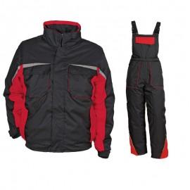 Costum de lucru impermeabil pentru iarnă, Kastor Black