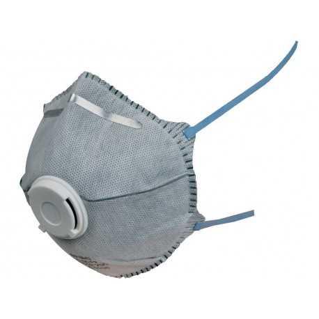 Semimască de protecție cu pre-filtru din carbon activ FFP2, 2506-09