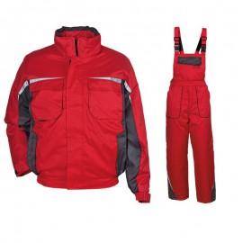 Costum de lucru vătuit pentru iarnă, Kastor Red