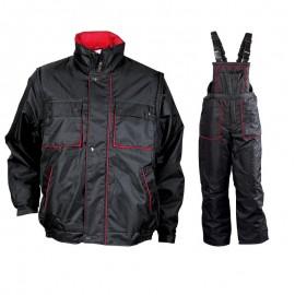 Costum de lucru pentru iarnă, cu mâneci detașabile, Zeta 1