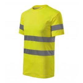 Tricou unisex, cu benzi reflectorizante 3M, 175 g/mp, HV Protect