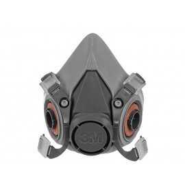 Semimască de protecție cu două filtre laterale 3M 6200, 2502-00