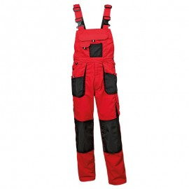 Pantaloni cu pieptar de lucru, funcționali și rezistenți, din tercot, 260 g/mp, Emerton Bibpants