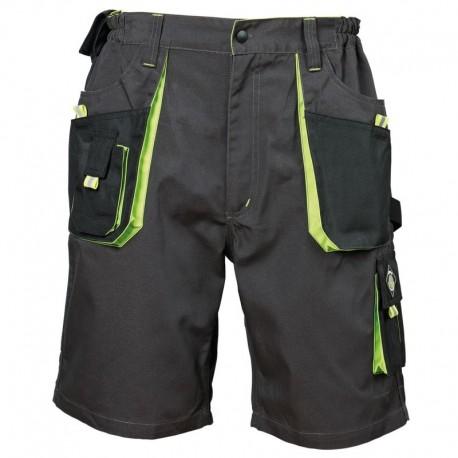 Pantaloni scurți de lucru, cu buzunare multifuncționale, din tercot, 260 g/mp, Emerton Shorts